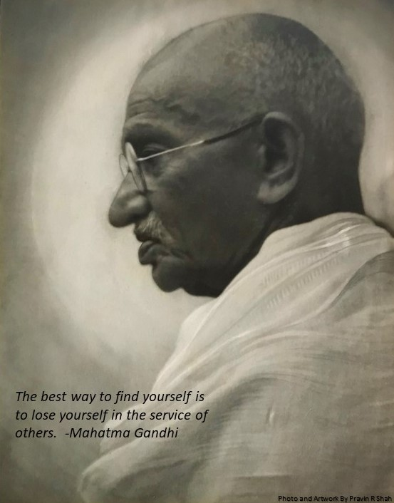 Gandhi by Pravin Shah1